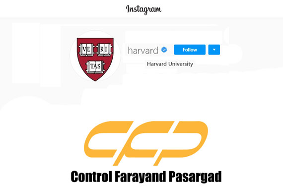 Harvard University instagram