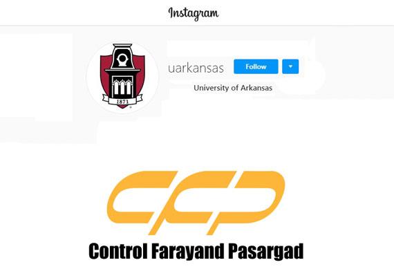 University of Arkansas instagram